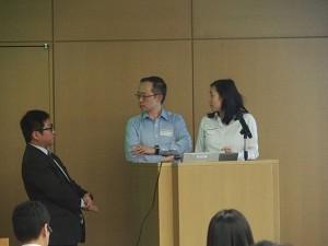 シンガポールから参加したTai Yen Howさん夫妻