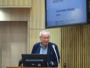 「肝細胞内Lafora小体が認められた糖原病IVの小児例」を発表している藤澤理事長